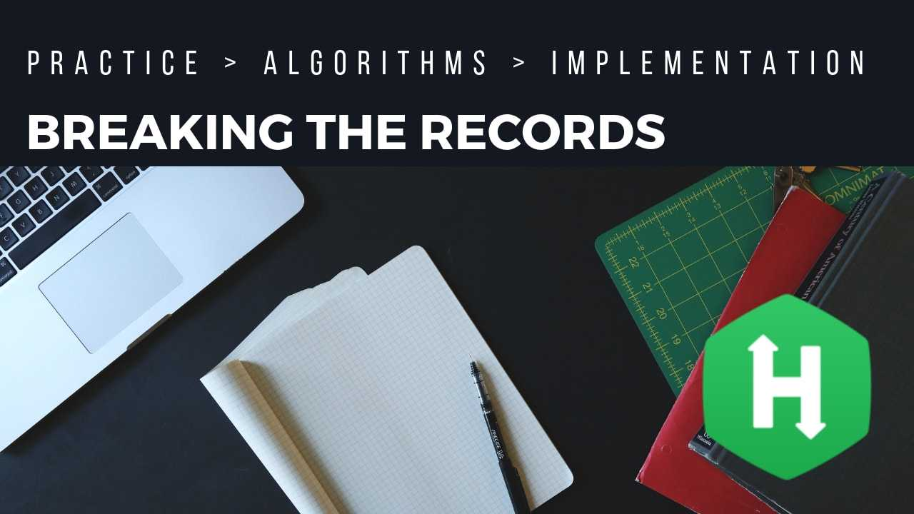 Hackerrank | Solution of Breaking the Records in Golang